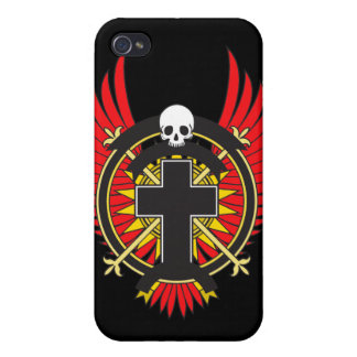 SKULL COVER FOR iPhone 4