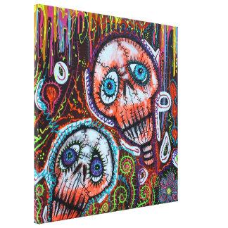 Skull Crew Canvas Print