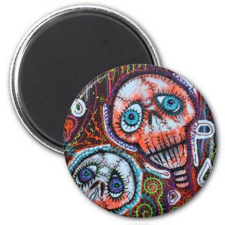 Skull Crew Magnets