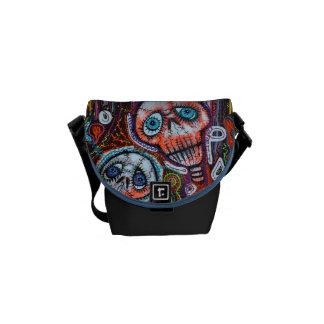 Skull Crew Messenger Bags