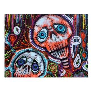 Skull Crew Post Cards