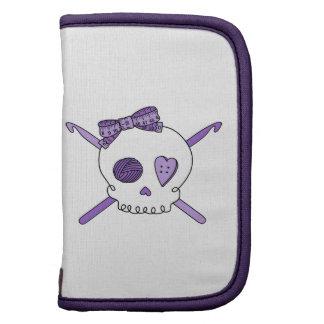 Skull & Crochet Hooks (Purple) Planner