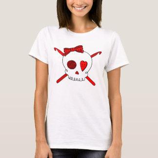 Skull & Crochet Hooks (Red) T-Shirt