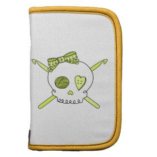 Skull & Crochet Hooks (Yellow) Organizer