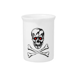 Skull & Cross Bone! Drink Pitchers