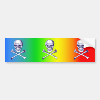 Skull & Cross Bones. Bumper Stickers