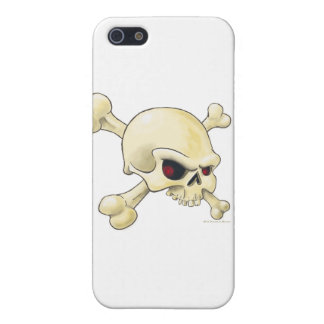 skull-cross-bones png iPhone 5 fundas