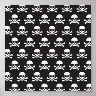 Skull & Cross Bones Poster