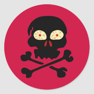 Skull & Cross Bones stickers