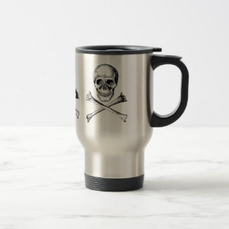 Skull & Cross Bones Travel Mug