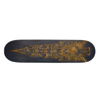 Skull Cross Skateboard