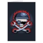 Skull & Cross Wrenches Cards