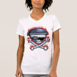 Skull & Cross Wrenches T-shirts
