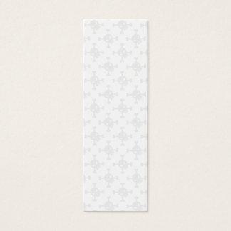 Skull & Crossbone Bookmark Mini Business Card