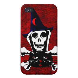 Skull, Crossbones, and Cat Covers For iPhone 4