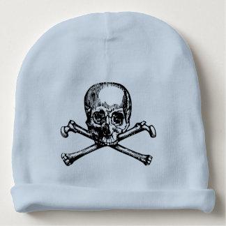 Skull & Crossbones Baby Beanie | 3 Colors