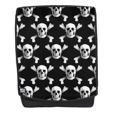 USA Themed Skull & Crossbones / Backpack