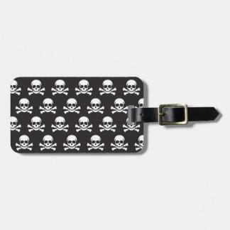 Skull & Crossbones Bag Tag