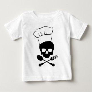 Skull & Crossbones Chef Baby T-Shirt