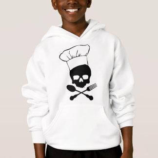 Skull & Crossbones Chef Hoodie