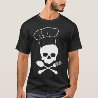 Skull & Crossbones Chef T-Shirt