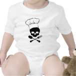 Skull & Crossbones Chef Tee Shirts