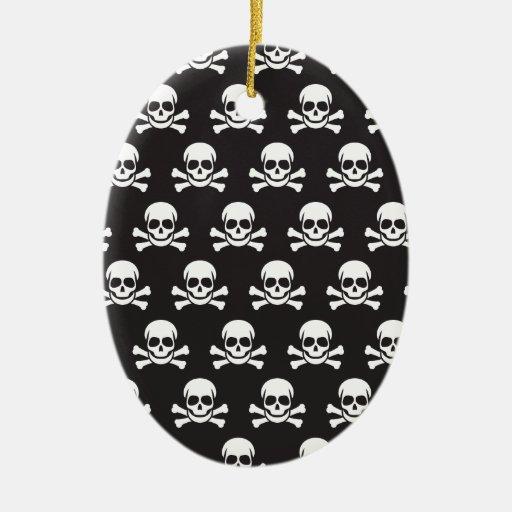 Skull & Crossbones Christmas Ornament