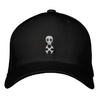 Skull Crossbones Embroidered Hat