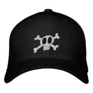 Skull & Crossbones Embroidered Hat