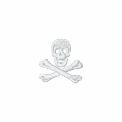 Skull & Crossbones Embroidered Track Jacket