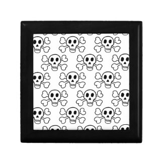Skull & Crossbones Jewelry Box