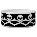 Skull & Crossbones - Jolly Roger Dog Bowl