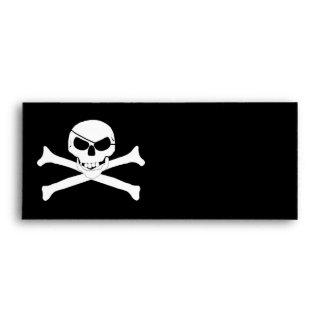 Skull & Crossbones - Jolly Roger Envelopes