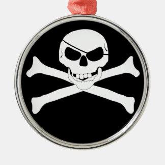 Skull & Crossbones - Jolly Roger Christmas Tree Ornament