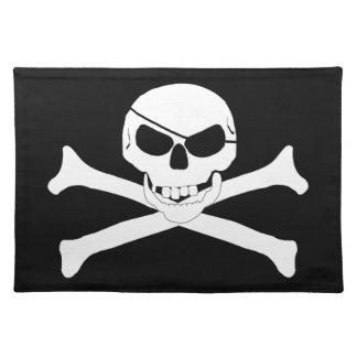 Skull Crossbones - Jolly Roger Place Mat