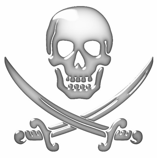 Skull & Crossbones - Jolly Roger Statuette