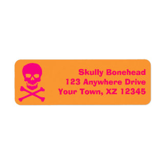 Skull & Crossbones Label