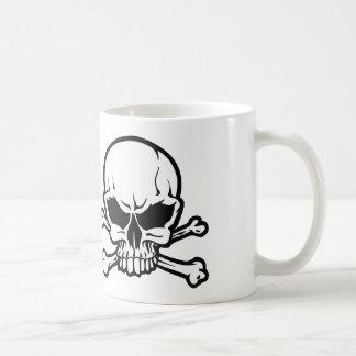 skull crossbones mug