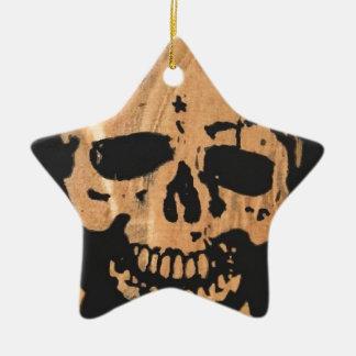 skull & crossbones no2. ceramic ornament