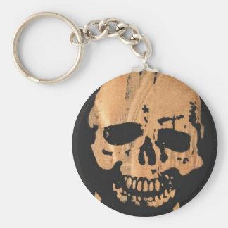 skull & crossbones no2. keychain