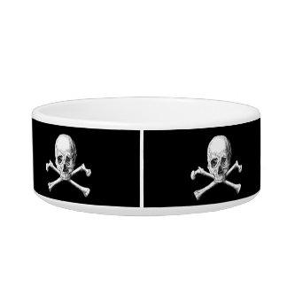 Skull & Crossbones Pet Bowl