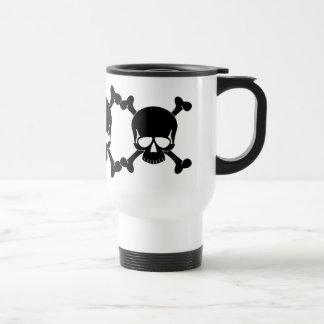 Skull & Crossbones  - Reusable Travel Mug
