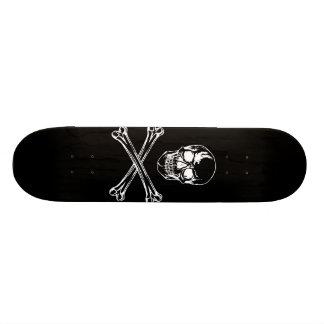 Skull & Crossbones Skateboard