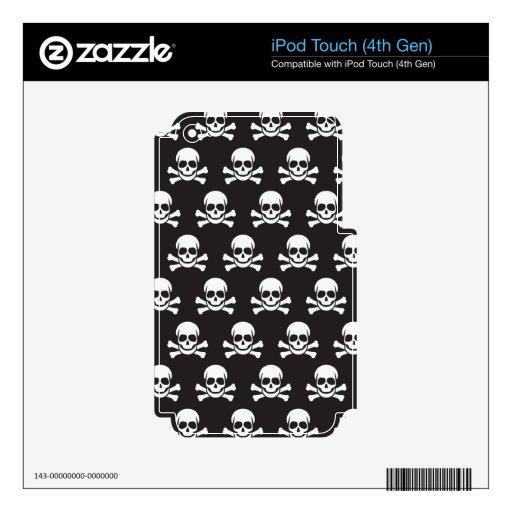 Skull & Crossbones Skin For iPod Touch 4G