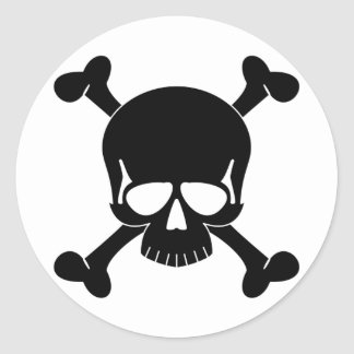 Skull & Crossbones Sticker