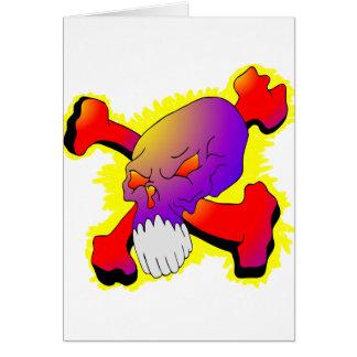 Skull & CrossBones Tattoo Greeting Cards