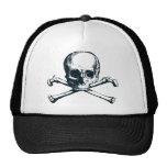skull crossbones trucker hats