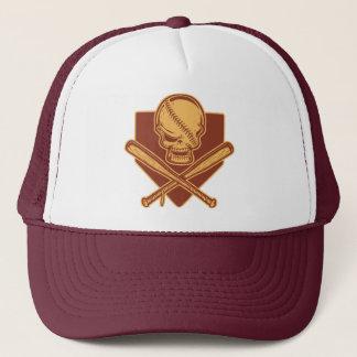 Skull & Crossed Bats 513 Trucker Hat