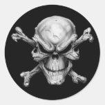 Skull Crossed Bones Adesivos
