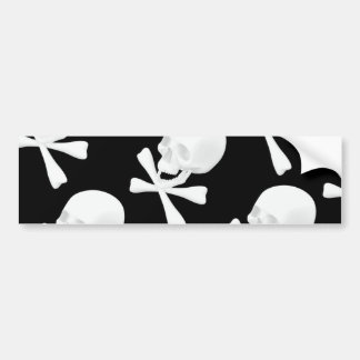 Skull & Crossed Bones Design Bumper Sticker